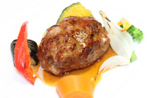 SCENAのハンバーグステーキ