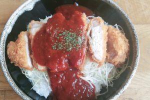 洋食デミカツ丼