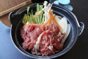 牛すき鍋(うどん入)
