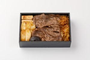 牛すき焼き弁当(上)