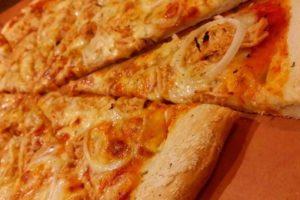 BBQチキンピザ
