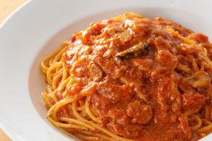 大定番! トマトとニンニクのスパゲティ