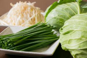 追加トッピング新鮮野菜各種