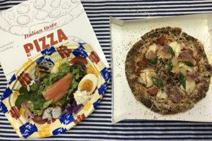 ピッツア&サラダオードブル付
