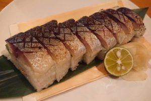 炙りサバの棒寿司orバッテラ