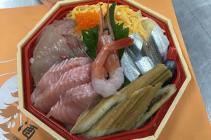 海鮮ちらし寿司(月曜・火曜限定)