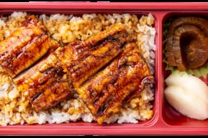 うな丼弁当(うなぎ半尾)