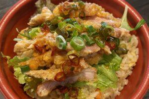 油林鶏炒飯