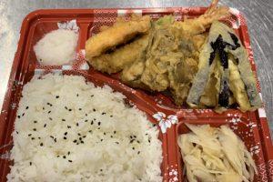 鮭と秋野菜定食