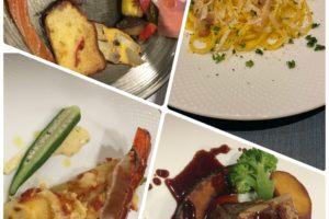 特別な高級食材を使ったメイン料理二皿のコース料理(2名様~)