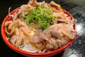 和豚しょうが焼き丼