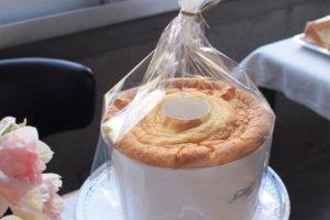 新鮮卵と牛乳のシフォンケーキ(ホール)