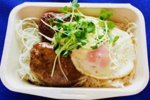 テリヤキハンバーグ丼