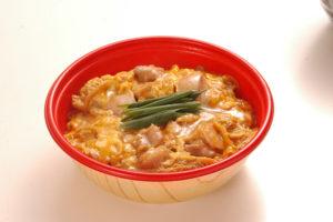 阿波尾鶏親子丼、ミニ親子丼